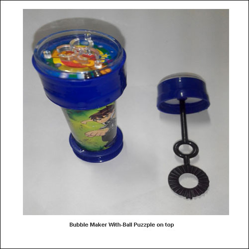 Bubble-maker-with-Ball-puzzple-on-top