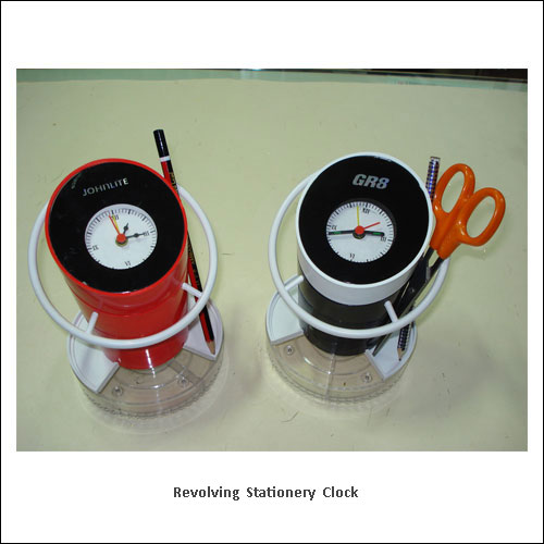 Revolving-Stationery-Clock