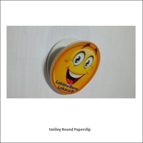 Smiley-Round-Paperclip