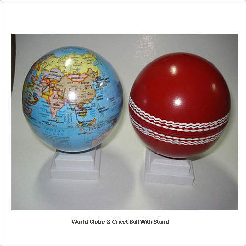 World-Globe-&-Cricet-Ball-with-stand---Low-resolution
